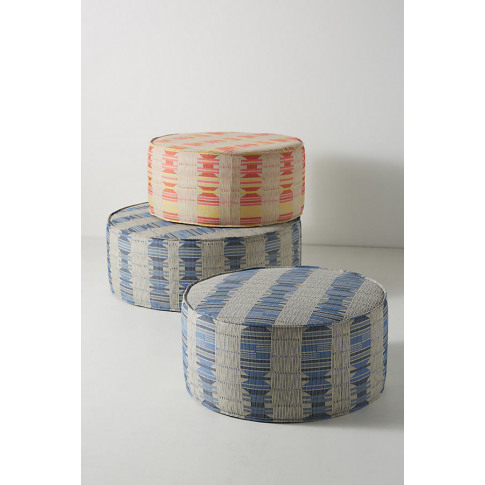 Montana-Striped Clive Ottoman - Assorted, Size S