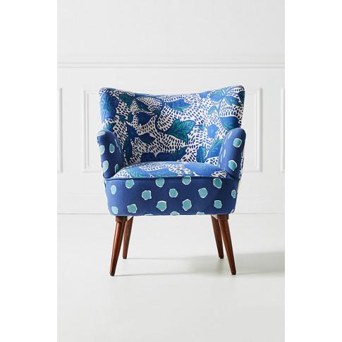Nina Accent Chair - Blue
