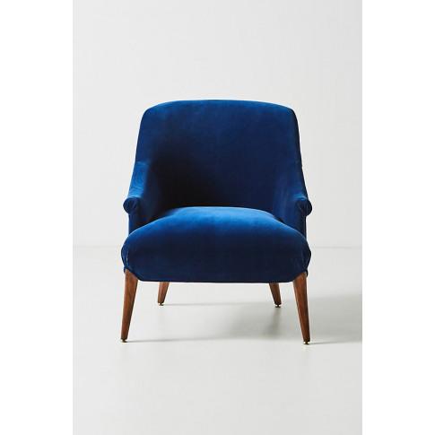 Frannie Accent Chair - Blue