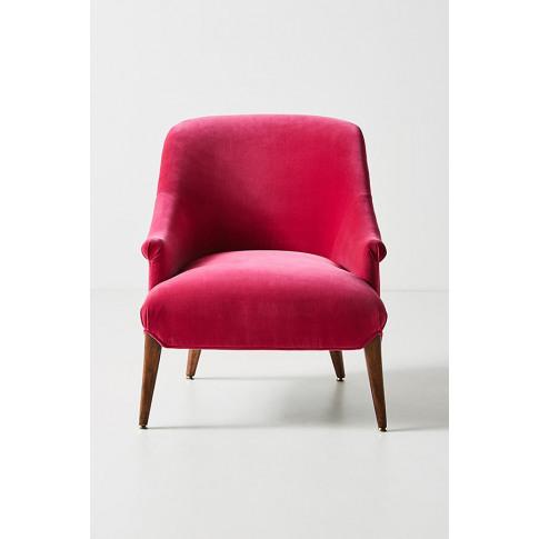 Frannie Accent Chair - Pink