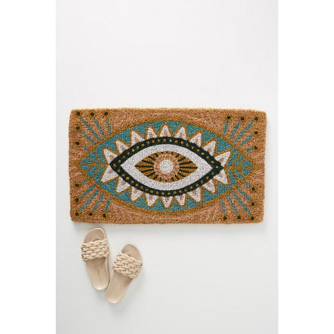 Spirit Eye Doormat - Blue
