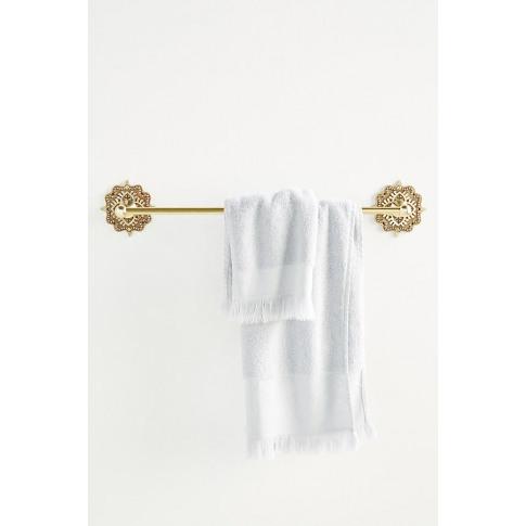 Beatrix Towel Bar - Brown