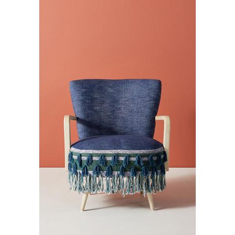 All Roads Shae Accent Chair - Blue