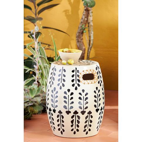 Griffin Ceramic Stool