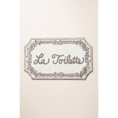 La Toilette Bath Mat - Grey