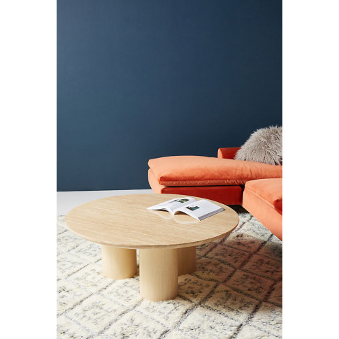Anya Coffee Table - Beige