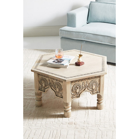 Raaz Hexagon Coffee Table