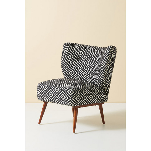 Kursi Accent Chair - Black