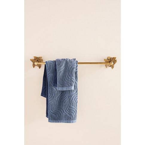 Melody Towel Bar - Brown
