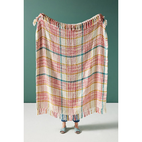 Molly Plaid Throw Blanket - Assorted