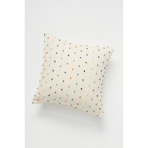 """Chroma Knot Cushion - Assorted, Size 18"""" Sq"""