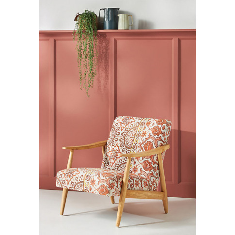 Rug-Printed Armchair - Assorted