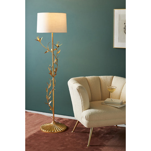 Hana Floral Floor Lamp