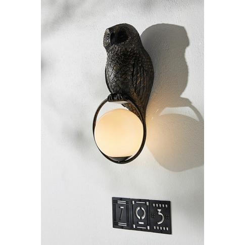 Woodland Owl Wall Light