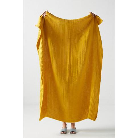 Airy Gauze Throw Blanket
