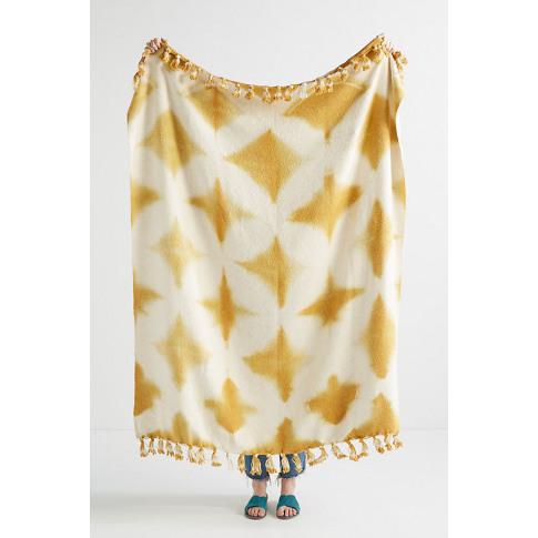 Fringed Sierra Throw Blanket