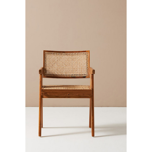 Ashton Caned Teak Dining Chair
