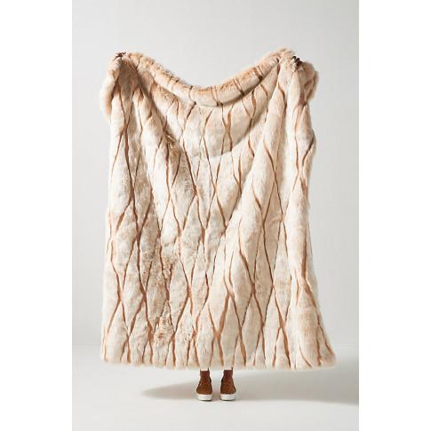 Alpine Faux Fur Throw Blanket