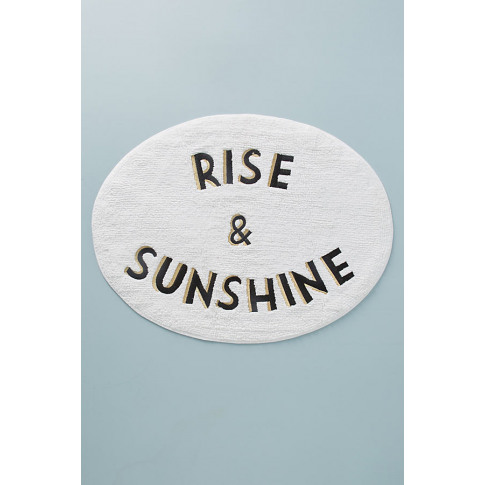 Rise & Sunshine Bath Mat