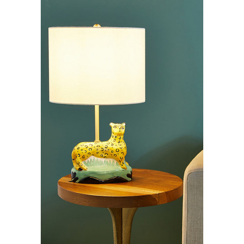 Art Knacky Cheetah Table Lamp