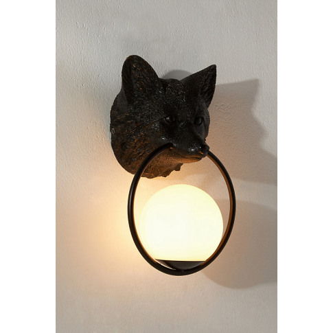 Woodland Fox Wall Light