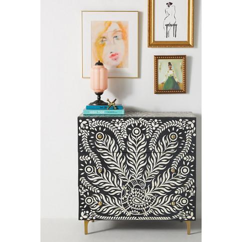 Lucienne Three-Drawer Dresser - Black