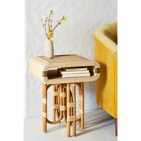Bora Side Table - Beige