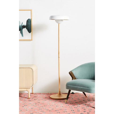 Zahra Floor Lamp - Gold, Size L