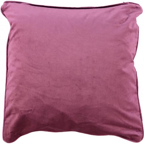 Lavender Velvet Cushion 55x55cm
