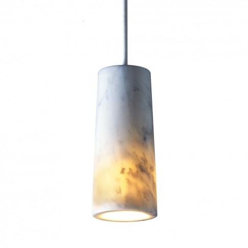 Core Pendant Light Marble
