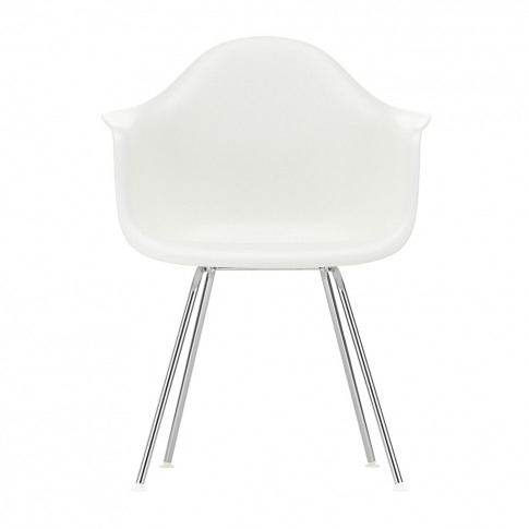 Dax Plastic Armchair Chrome Base