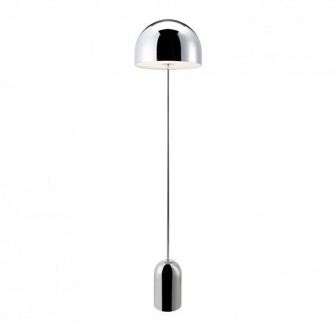 Bell Floor Lamp Chrome