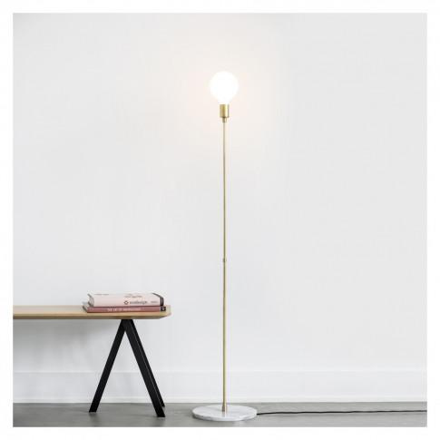 Dot Luna Floor Lamp Brass