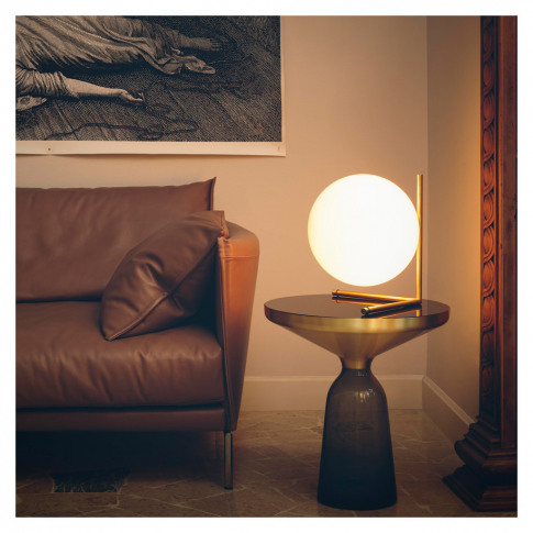 Ic T2 Table Lamp Brushed Brass