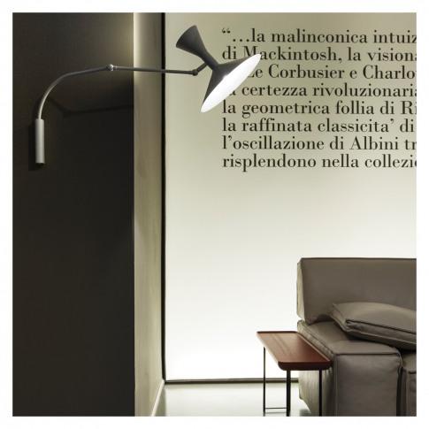 Lampe De Marseille Wall Lamp Mini Grey