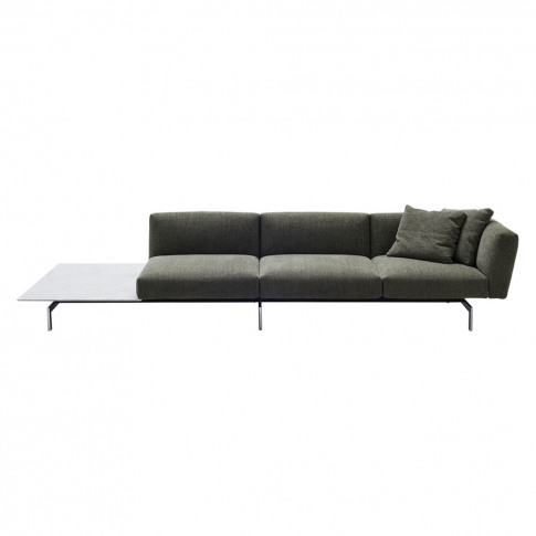 Avio 3-Seater Sofa With Marble Side Table
