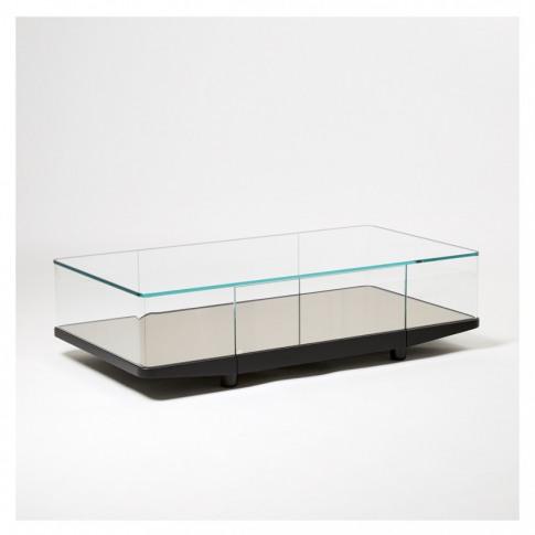 Collector Coffee Table Exclusive Bronze Mirror Recta...