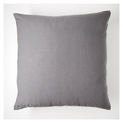 Linen Cushion Cover Slate 65cm X 65cm