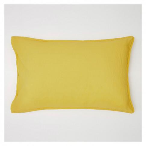 Linen Pillowcase Ochre
