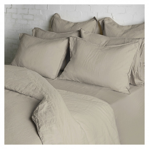 Linen Duvet Cover Single Natural