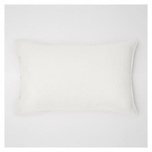 Linen Pillowcase White