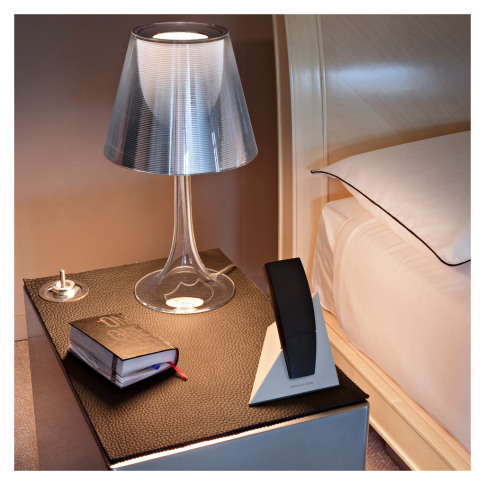Miss K Table Lamp Silver & Aluminium