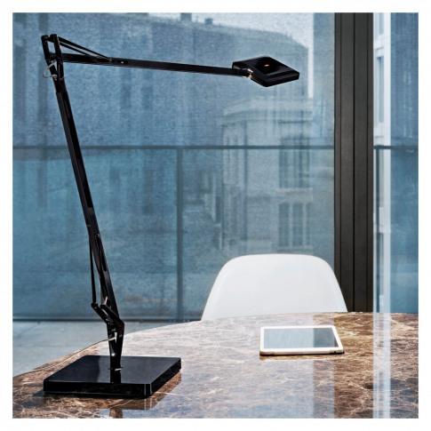 Kelvin Edge Table Lamp Black
