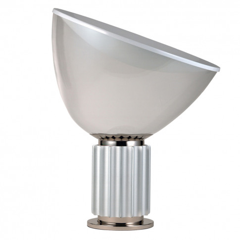 Taccia Table Lamp Anodised Silver