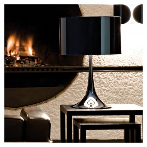 Spun Light T1 Table Lamp Black