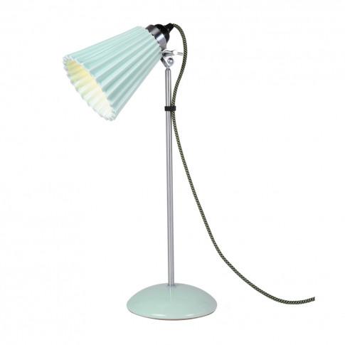 Hector Pleat Table Lamp Light Green Medium