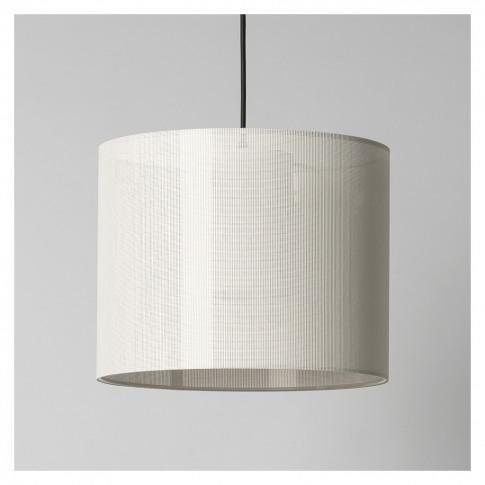 Moare Liviana Pendant Lamp White Shade