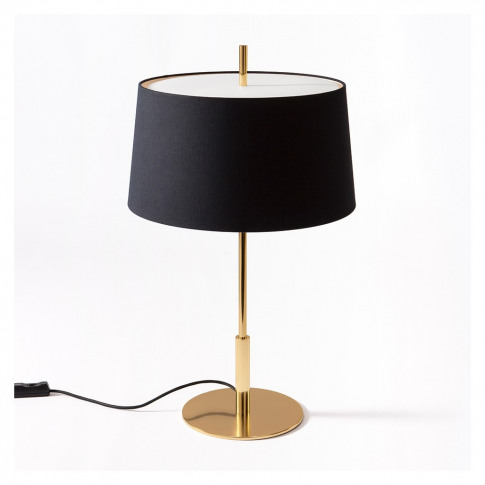Diana Table Light Brass Base