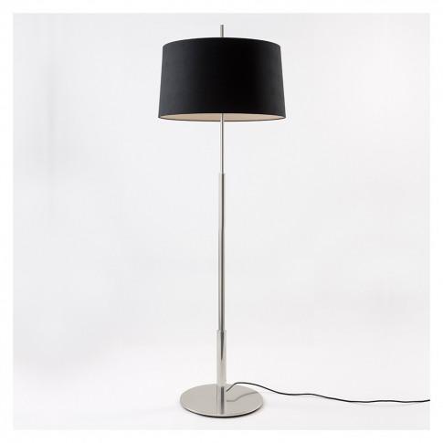 Diana Floor Lamp Nickel Base