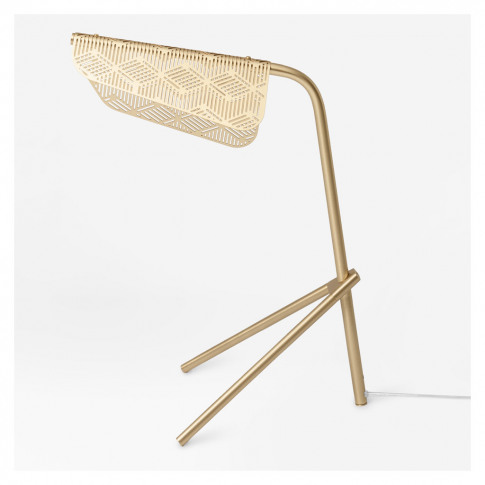 Mediterranea Table Lamp Brushed Brass